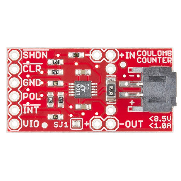 SparkFun BOB-12052 LTC4150 Coulomb Counter Breakout