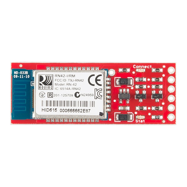 Bluetooth Mate Silver for Arduino Pro and Lilypad (WRL-12576)