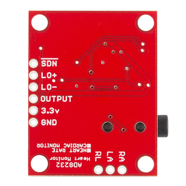 SparkFun SEN-12650 Single Lead Heart Rate Monitor - AD8232