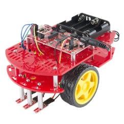 SparkFun ROB-13259 Wheel - 65mm (Rubber Tire, Pair)