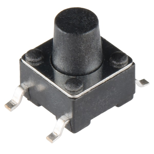 Tactile Button, 6mm, SMD