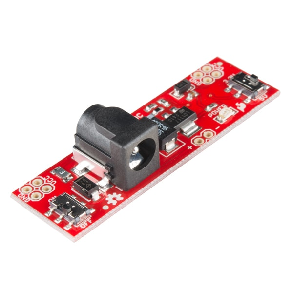 Power Supplies SparkFun PRT-13032 Breadboard Power Supply Stick – 5V/3.3V