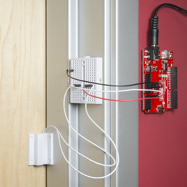 Magnetic Door Switch Set (Complete Assembly)