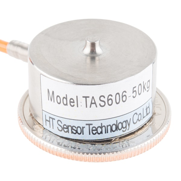 Load Cell – 50kg, Button Compression Disc (TAS606)