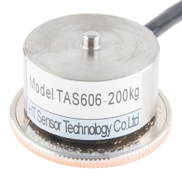 Load Cell - 200kg, Button Compression Disc (TAS606)