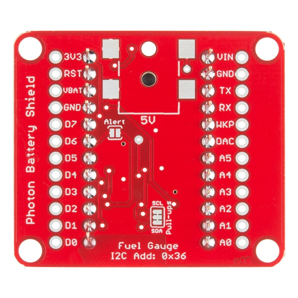 SparkFun DEV-13626 Photon Battery Shield