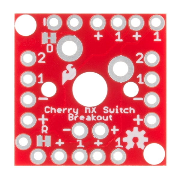 Buttons, Switches and Joysticks SparkFun BOB-13773 Cherry MX Switch Breakout