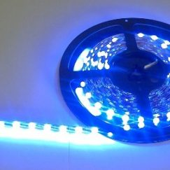 Blue flexible LED strip - 30 way, 0.5m length
