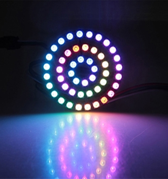 Lighting and Displays WS2812B Addressable RGB LED Ring Set
