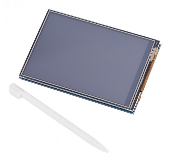 3.5 inch LCD Touch Screen Display + Nine-layer Acrylic Case for Raspberry Pi 3