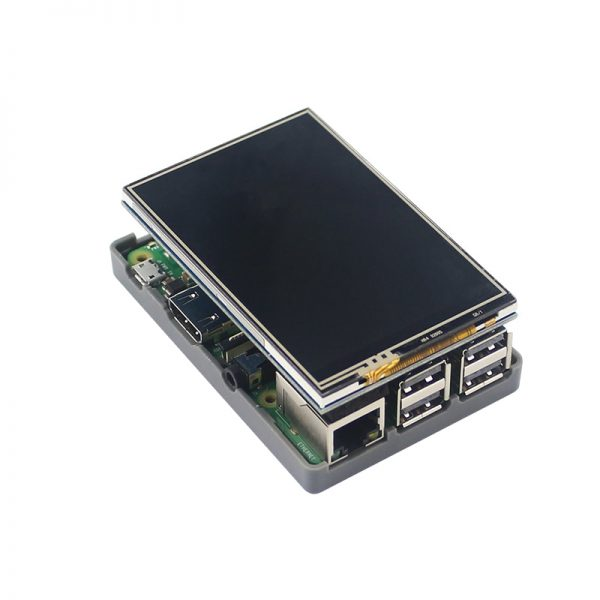 Raspberry Pi case, with 340x480 Touch Screen