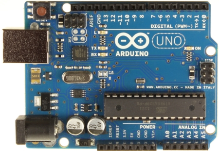 Arduino Uno R3 Main Board Front/Top View A000066