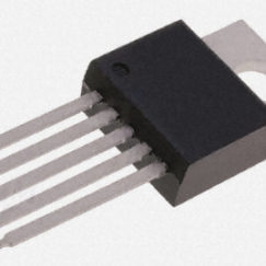 Temperature Sensor 8-Bit I2C TO-220-5