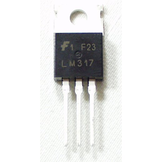 LM317T voltage regulator