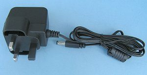 Power Supplies UK style mains adapter 12V DC
