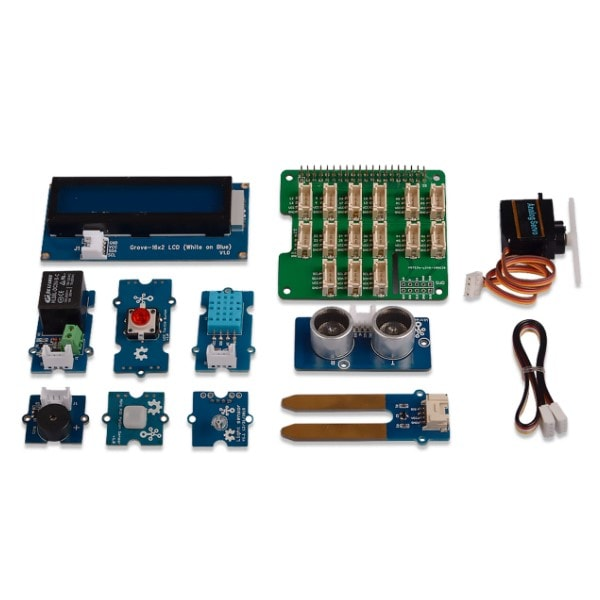 Grove Base Kit for Raspberry Pi UK Components image Proto-PIC