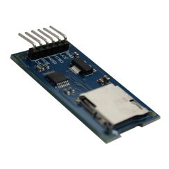 Micro SD card reader module SPI with level shifting