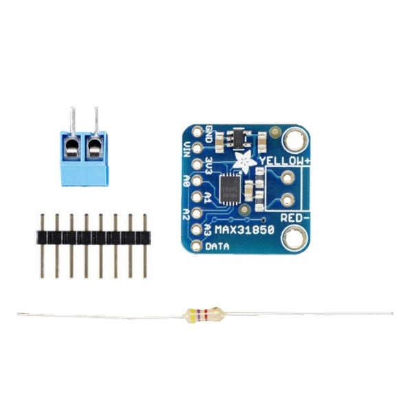 Adafruit 1727 Thermocouple Amplifier with 1-Wire Breakout Board - MAX31850K