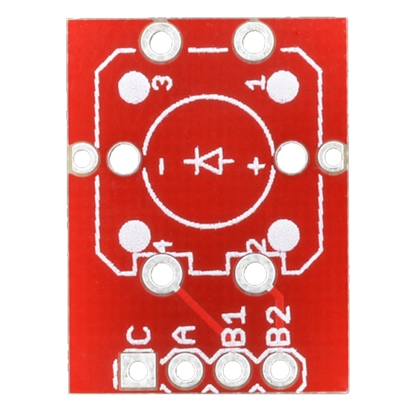 PPBOB-10467 Proto-PIC Button Breakout Board Top