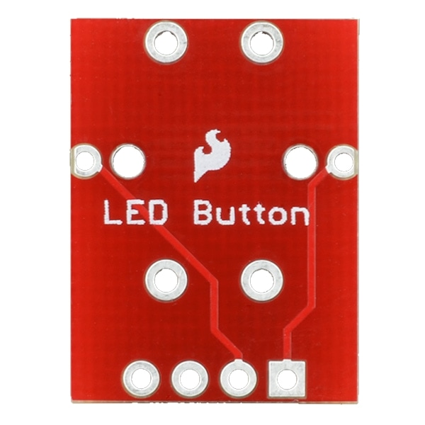 PPBOB-10467 Proto-PIC Button Breakout Board Bottom