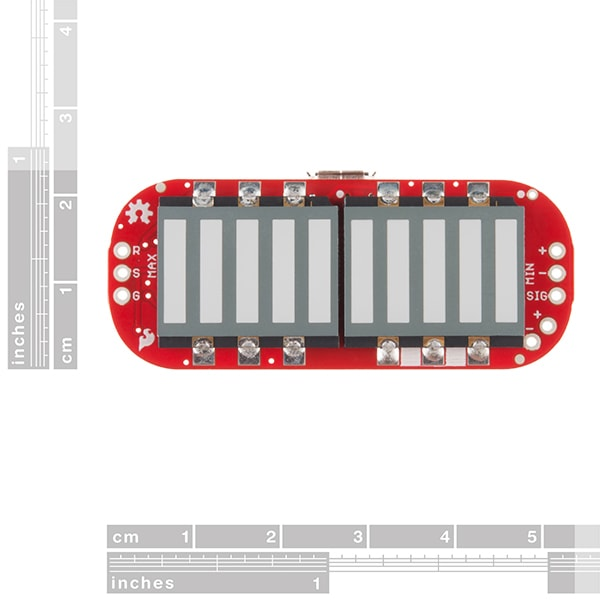 MyoWare Muscle Sensor LED Shield (DEV-13688)