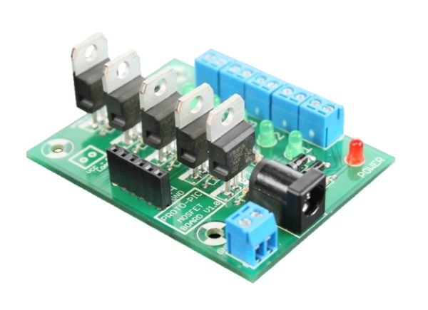 Boards 5 channel logic level controlled mosfet board kit