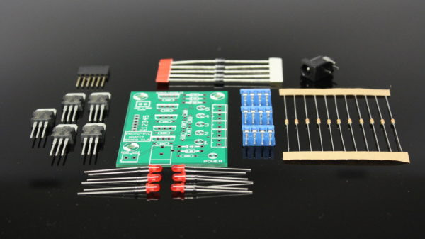 5 channel logic level controlled mosfet board kit