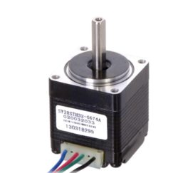 Motors and Gearboxes Pololu 1205 Stepper Motor: Bipolar, 200 Steps/Rev, 28×32mm, 3.8V, 0.67 A/Phase
