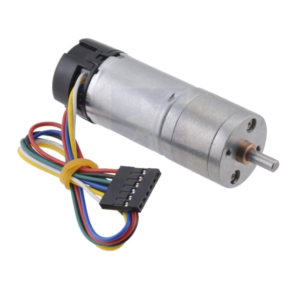 Metal Gearmotor - motor with 378:1 gearbox Proto-PIC