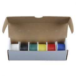 Hook-Up Wire - Assortment (Solid Core, 22AWG)