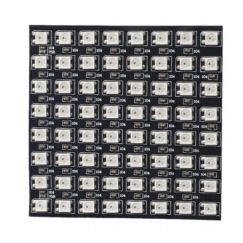 8x8 RGB LED Array Flexible WS2812B Matrix - (Adafruit NeoPixel compatible)