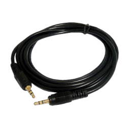 1.2 Metre Gold Plated 3.5mm Audio Cable
