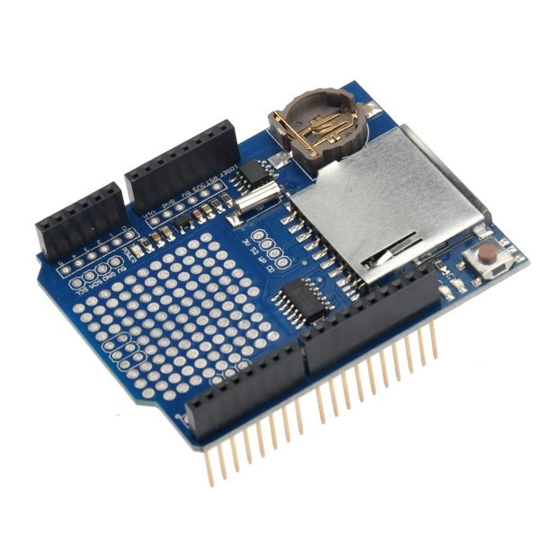 Data Logger shield for Arduino, Logging