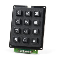 Qwiic Keypad - 12 Button