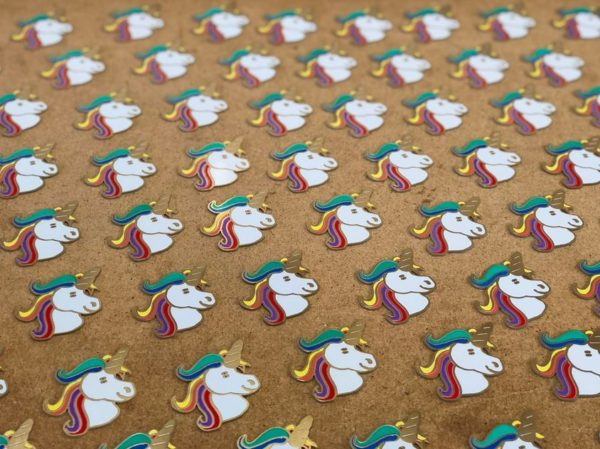 Unigeek - A Unicorn Badge Soldering Kit