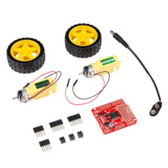 SparkFun Ardumoto Shield Kit (KIT-14180)