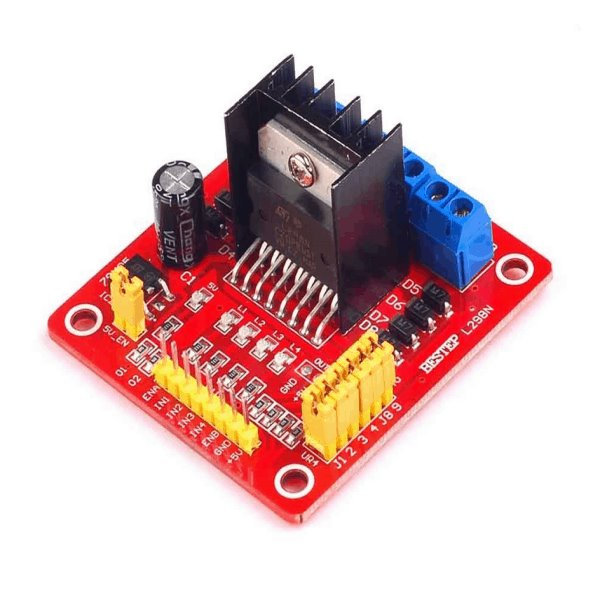 L298N DC Motor Driver Module for Arduino