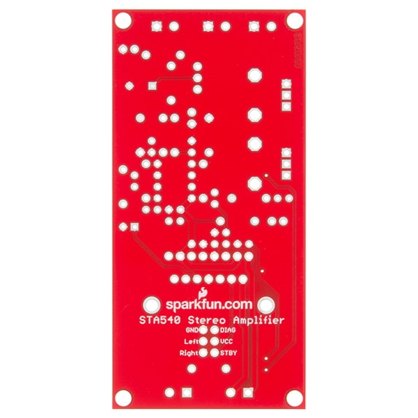 SparkFun Audio Amplifier Kit - STA540 PCB board