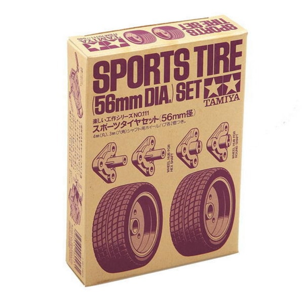 Tamiya 70111 Sports Tire Set (2 tires)