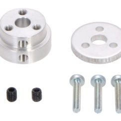 Aluminium Scooter Wheel Adapter for 6mm Shaft Included Hardware