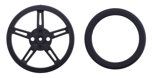60x8mm Wheel included hardware pololu