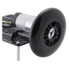 70mm scooter/skate wheels with gearmotor and shaft adapter