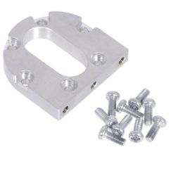 Machined Aluminum Bracket for 37D Metal Gearmotors