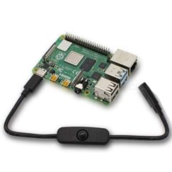 USB-C Power Switch for Raspberry Pi 4