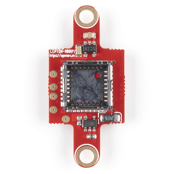 OpenMV Lepton Adaptor Module top view unpopulated - Proto-PIC