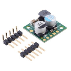 Pololu 5V, 2.5A Step-Down Voltage Regulator D24V22F5 with included header strips