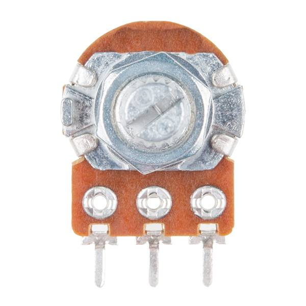 Rotary Potentiometer Range - 1K to 1M Ohm, Linear