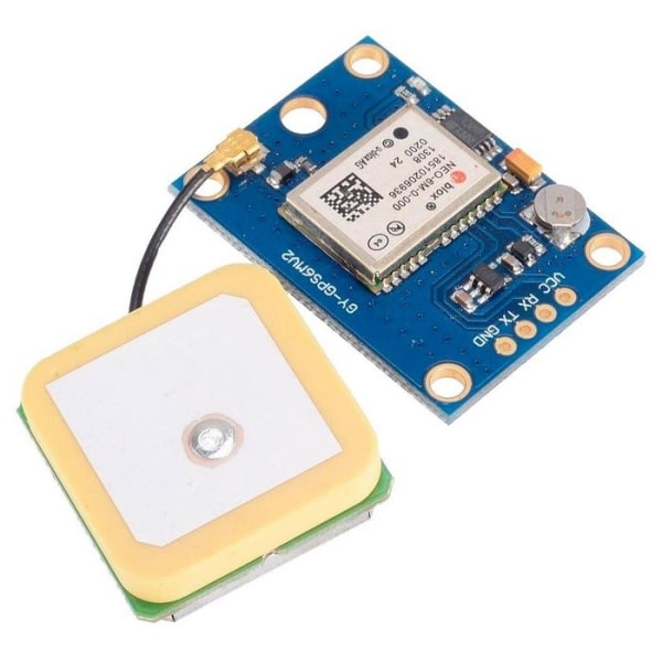 NEO-6M GPS Module For Arduino With Large Antenna