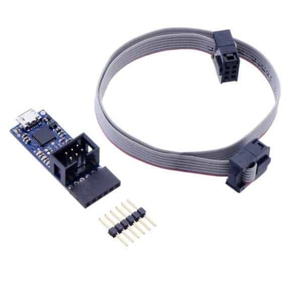 USB AVR Programmer v2.1 with serial usb cable