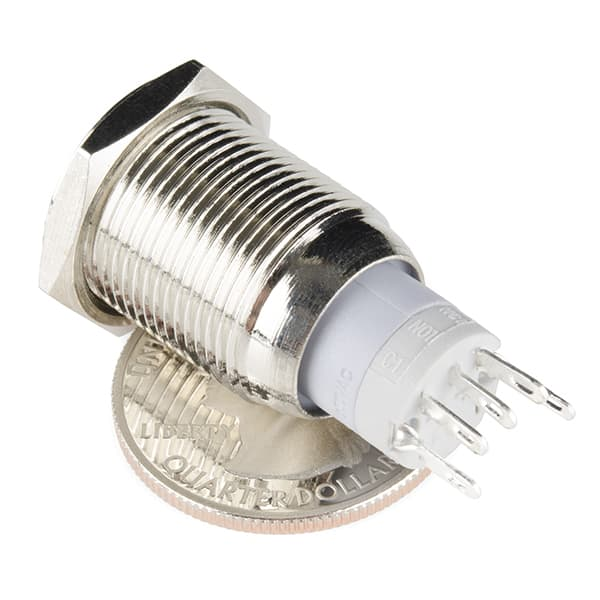 SparkFun Coloured metal pushbutton - 16mm